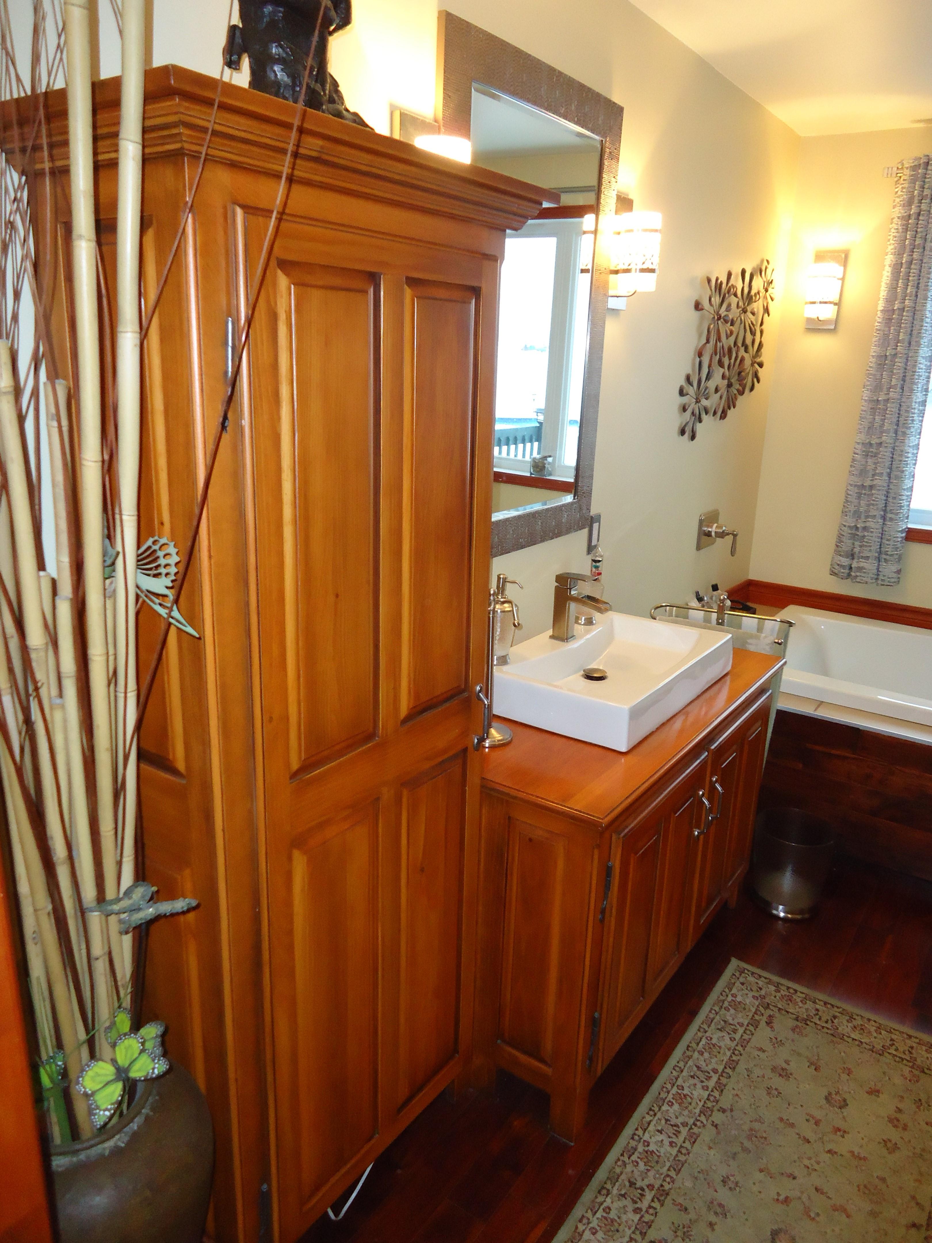 Vanit de salle de bain b nisterie le ptit castor inc for Hauteur vanite salle de bain 2